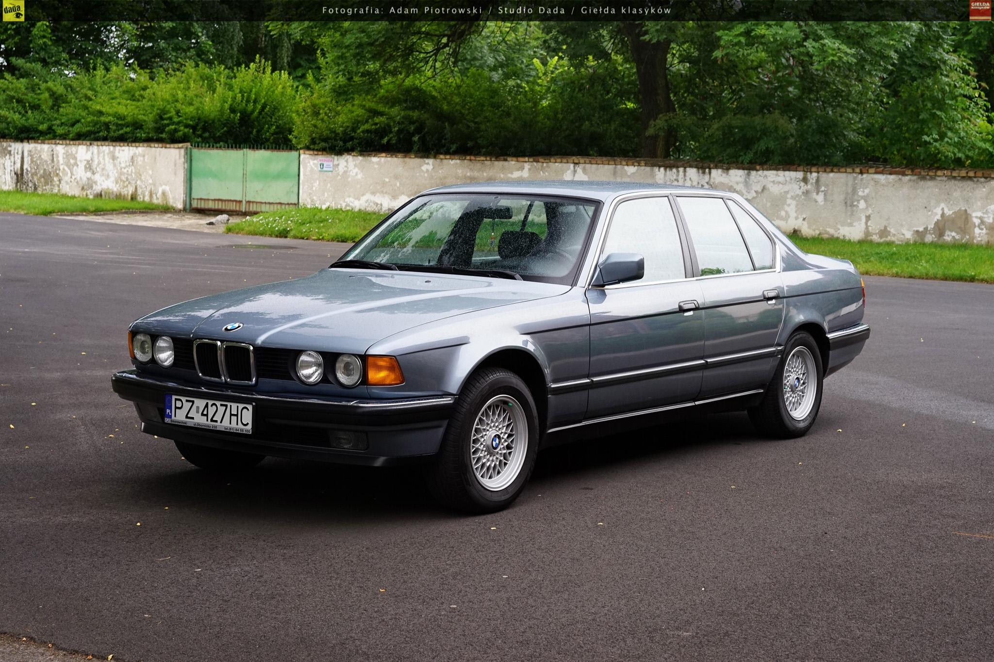 BMW 730i E32 Rocznik 1987 Przebieg 153000 Km Pojemnosc 2998 Cm3 Rodzaj Paliwa Benzyna Skrzynia Biegow Automatyczna Moc 188 KM