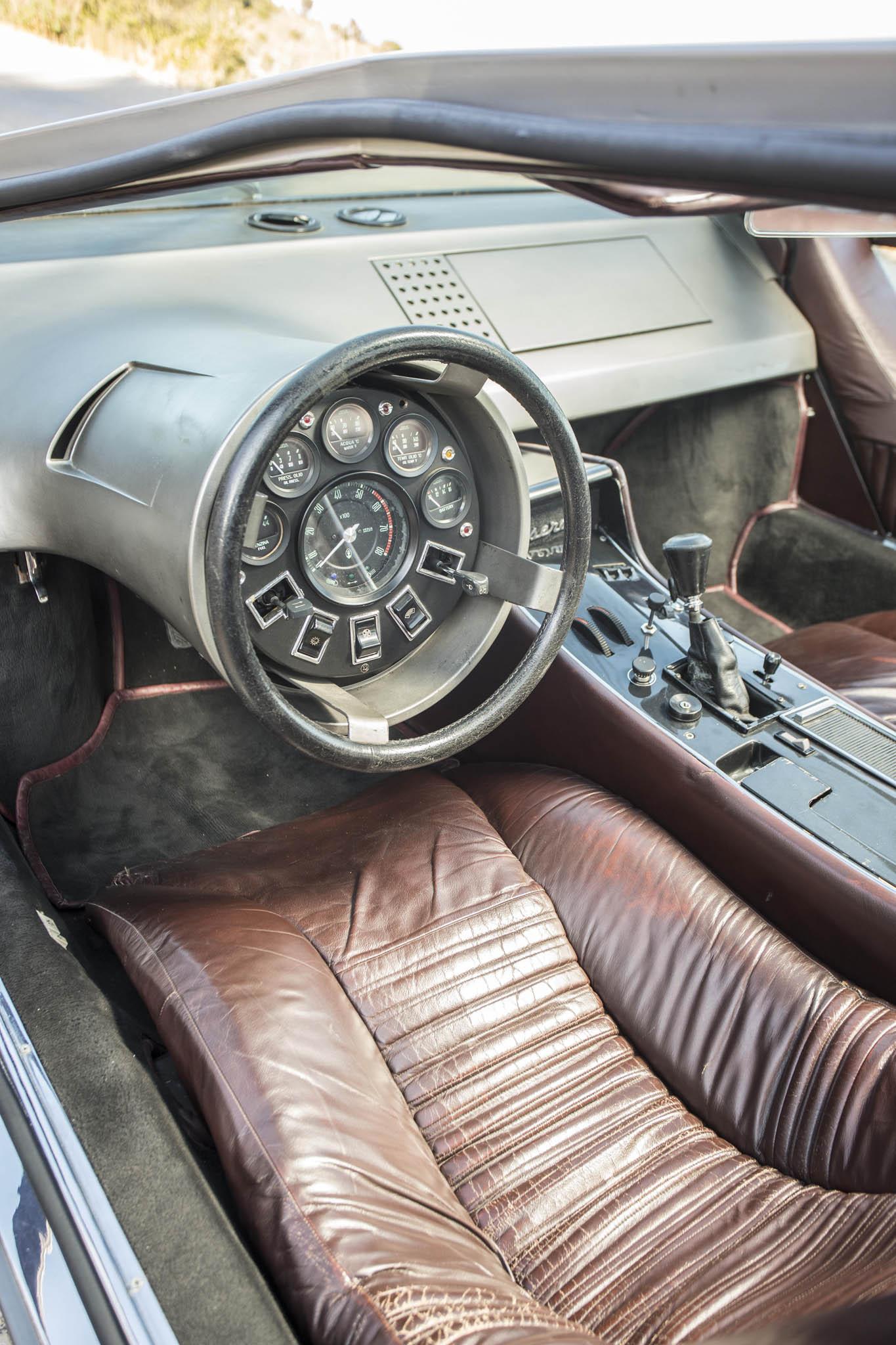 Maserati Boomerang 1972 Sprzedane Giełda Klasyk 243 W