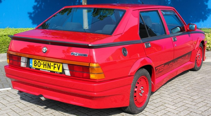 Alfa Romeo 75 Turbo Evoluzione 1987 – SPRZEDANA