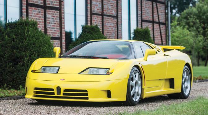 Bugatti EB110 Super Sport 1995 – SPRZEDANE