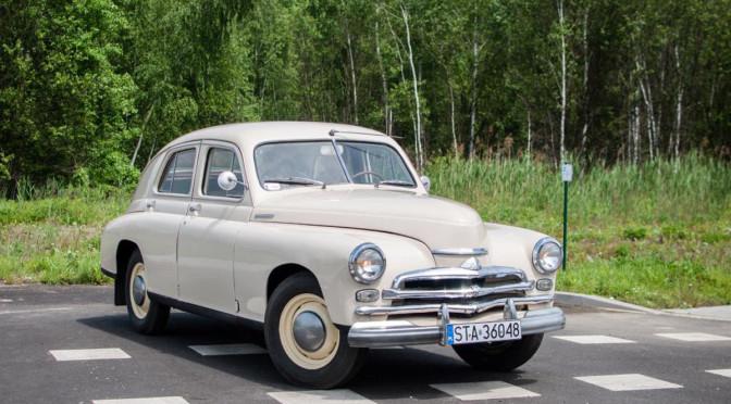 GAZ Pobieda M20 1955 – 34500 PLN – Zabrze