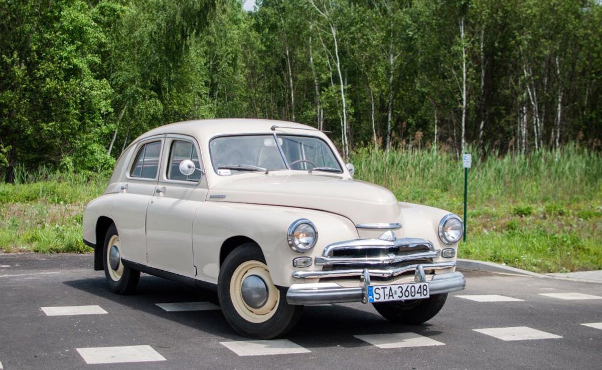 Gaz Pobieda M20 1955 34500 Pln Zabrze Giełda Klasyk 243 W