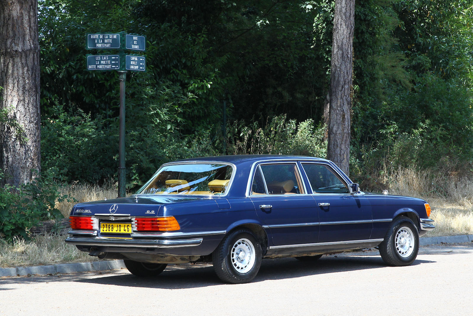 Mercedes 450 sel 6 9 1976 sprzedany gie da klasyk w for Mercedes benz 450 sel 6 9