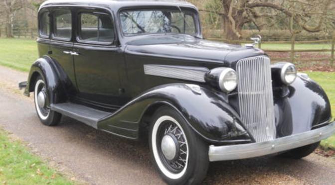 Pontiac Eight 1934 – 65000 PLN – Warszawa