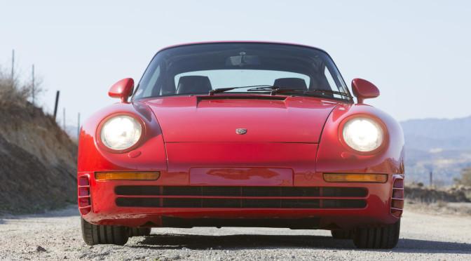 Porsche 959 Komfort 1987 – SPRZEDANE