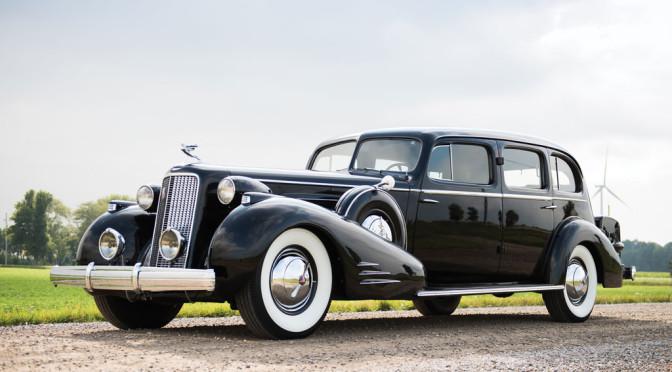 Cadillac V-16 1937 – SPRZEDANY