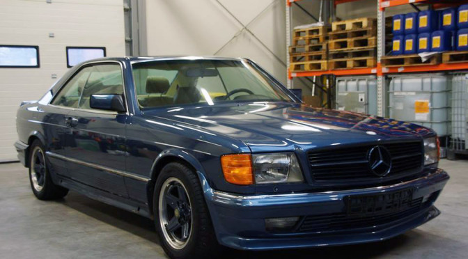 Mercedes 380 SEC AMG C126 1983 – SPRZEDANY