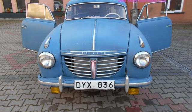 Borgward Goliath GP700 1954 – 49000 PLN – Gryfice