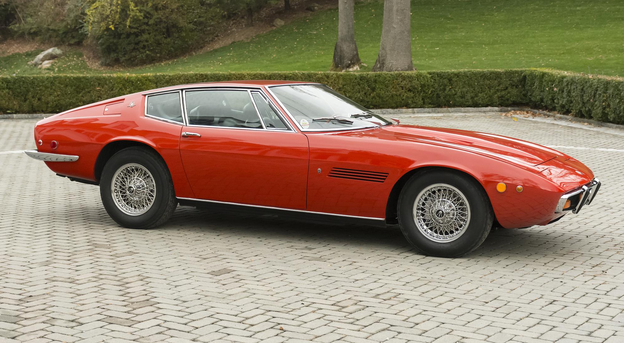 Maserati Ghibli SS 1972 - SPRZEDANE - Giełda klasyków