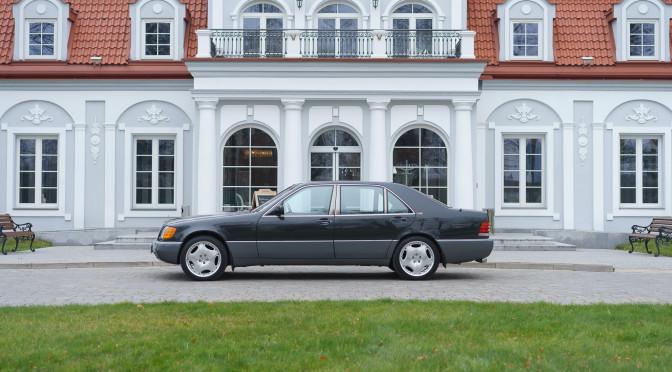 Mercedes 600 SEL AMG W140 1992 – SPRZEDANY