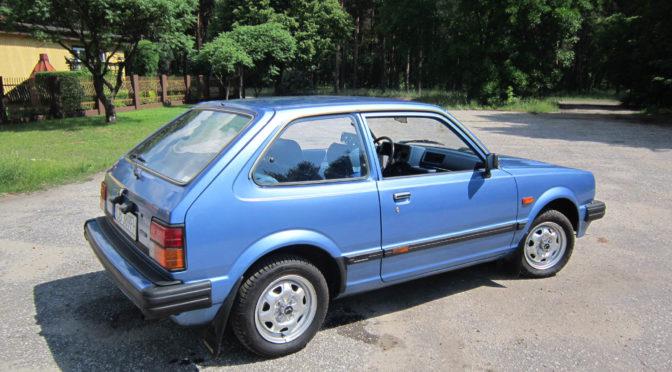 Honda Civic 1982 – SPRZEDANA