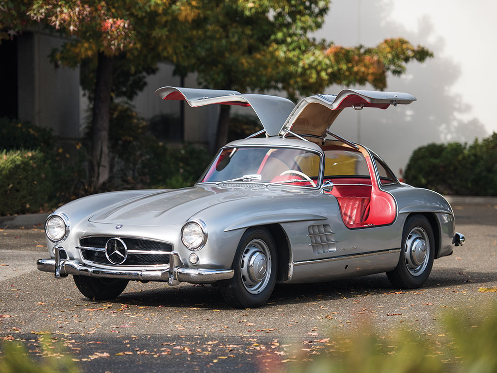 mercedes 300 sl gullwing 1955 sprzedany gie da klasyk w. Black Bedroom Furniture Sets. Home Design Ideas
