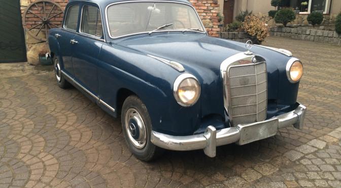Mercedes 219 W105 1959 – 42000PLN – Ruda Śląska