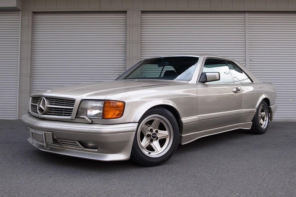 Mercedes 560 sec amg widebody 1989 ok 623000 pln usa for Mercedes benz 560 sec