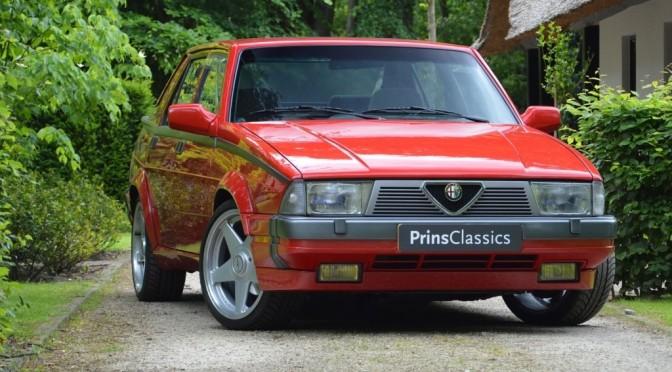 Alfa Romeo 75 3.0 V6 America 1989 – SPRZEDANA