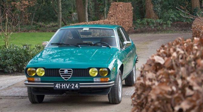 Alfa Romeo Alfetta GT 1976 – SPRZEDANA