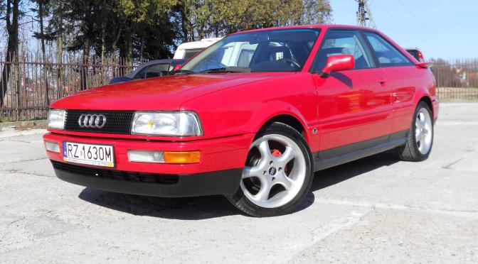 Audi Coupe 8B 1990 – SPRZEDANE