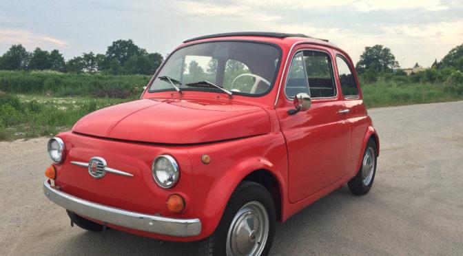 Fiat 500 F 1968 – SPRZEDANY