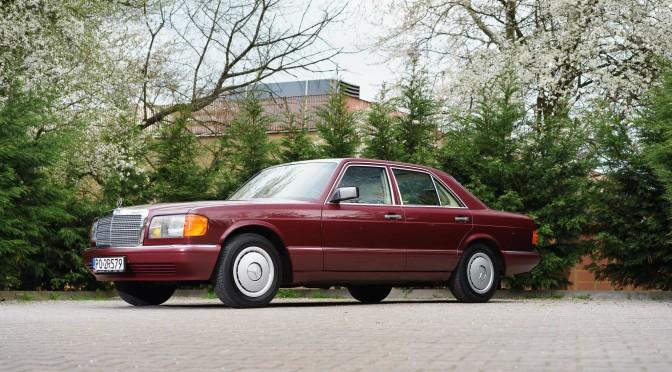 Mercedes 300 SE W126 1988 – SPRZEDANY
