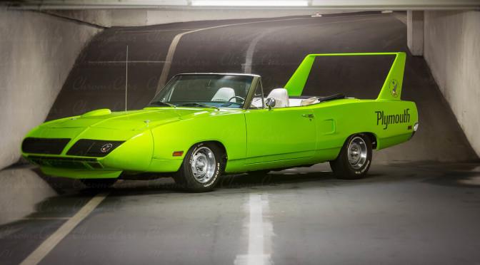Plymouth Superbird Convertible 1970 – ok. 640000 PLN – Niemcy