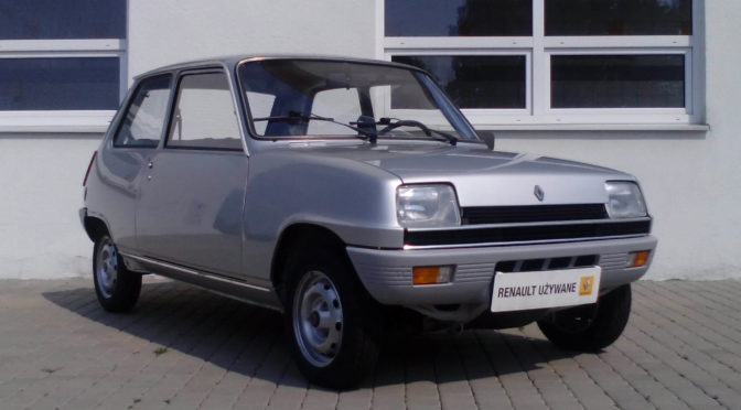 Renault 5 1981 – 19900 PLN – Jaworze