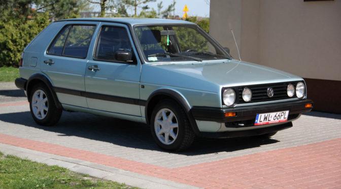 Volkswagen Golf Mk2 1990 – SPRZEDANY