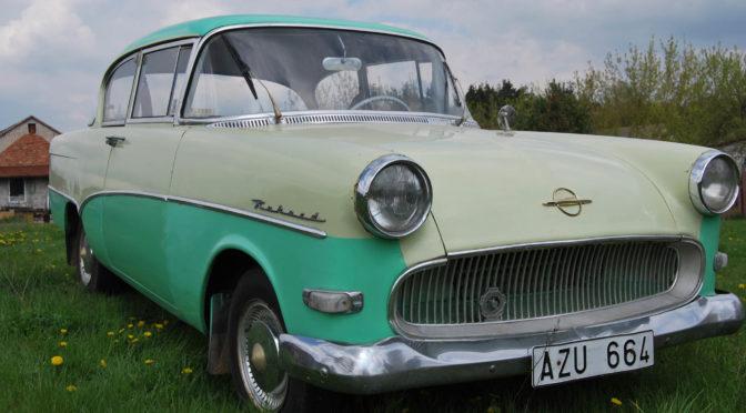Opel Rekord 1959 – 35000 PLN – Ostrołęka