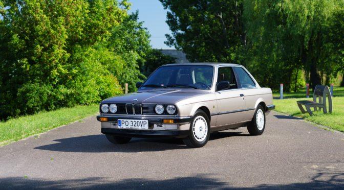 BMW 320i E30 1986 – SPRZEDANE
