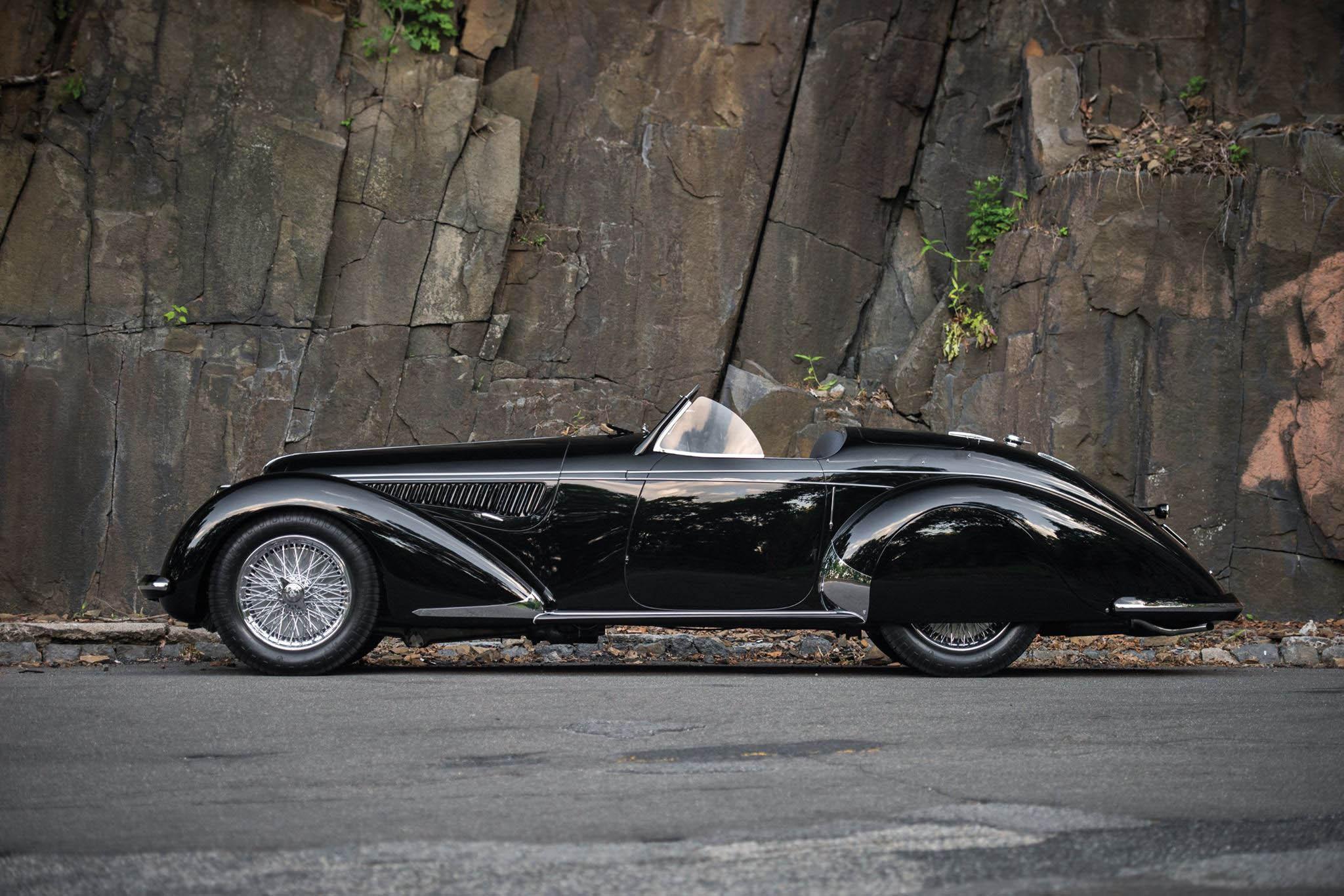 Alfa Romeo 8c 2900b Lungo Spider 1939 Sprzedana Gieda Klasykw Rear End Link Https Rmsothebyscom En Auctions Mo16 Monterey Lots R208 By Touring 381861