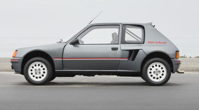 Peugeot 205 Turbo 16 1984 – SPRZEDANY