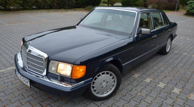 Mercedes 560 SEL W126 1991 – SPRZEDANY