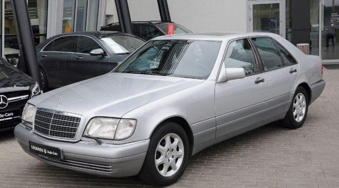 Mercedes S 350 Turbodiesel W140 1994 – SPRZEDANY
