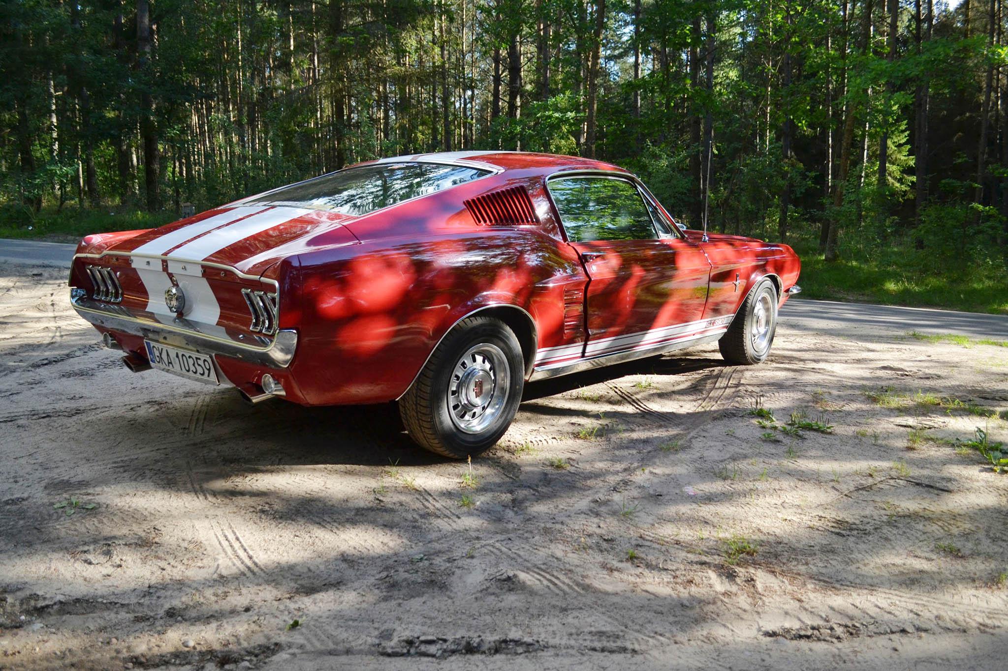 Ford Mustang GT 390 Fastback 1967 SPRZEDANY Giełda klasyk³w