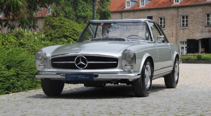 Mercedes 230 SL W113 Pagoda 1965 – ok. 534000 PLN – Holandia