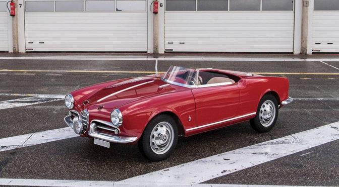 Alfa Romeo Giulietta 750G Spider Competizione 1957 – SPRZEDANA