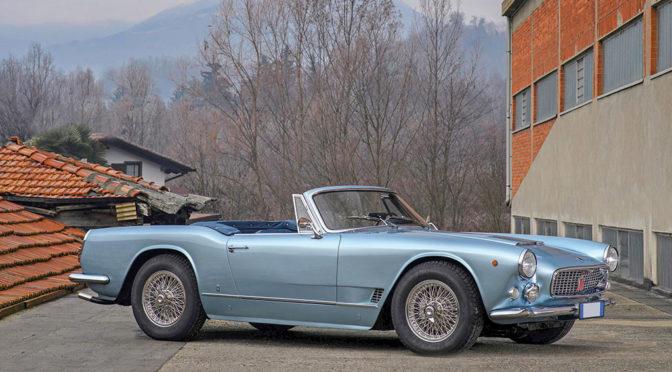 Maserati 3500 GT Spider 1962 – SPRZEDANE