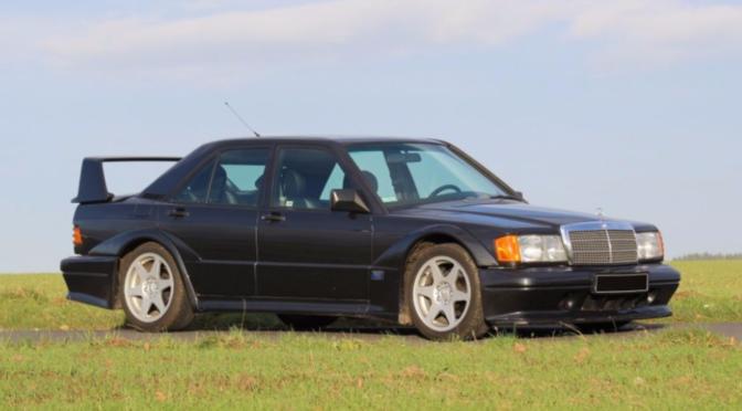 Mercedes 190E 2.5-16 Evolution II 1990 – SPRZEDANE