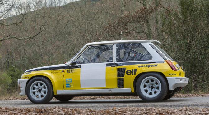 Renault 5 Turbo 1983 – SPRZEDANE