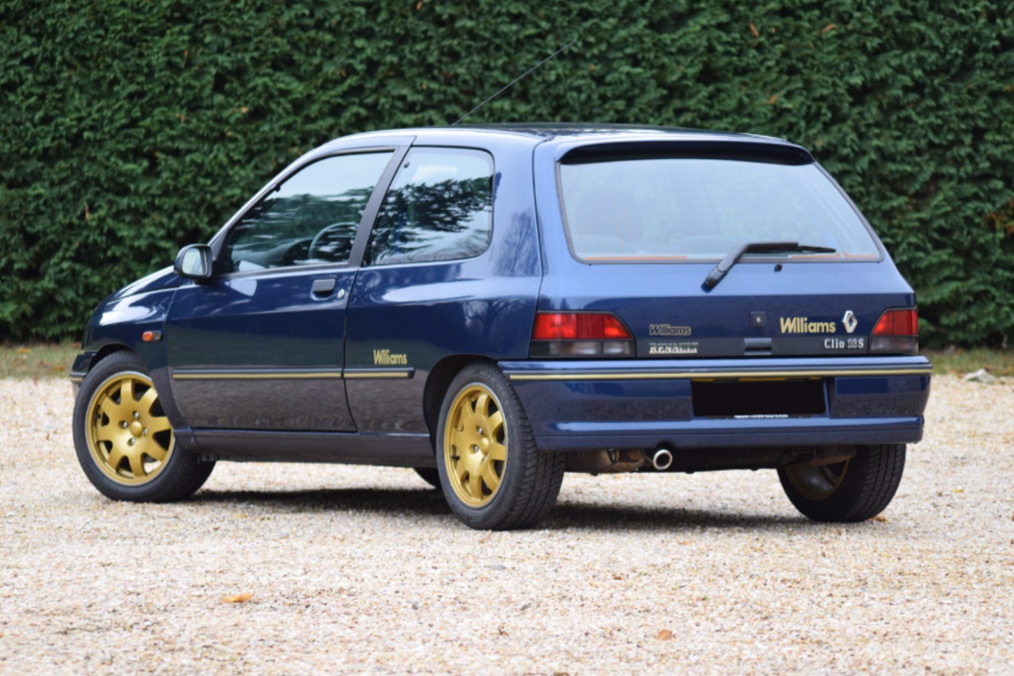 renault clio williams i 1993 sprzedane gie da klasyk w. Black Bedroom Furniture Sets. Home Design Ideas