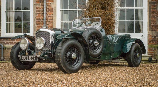 """Bentley """"Rusty Turner"""" Special 1939 – SPRZEDANY"""