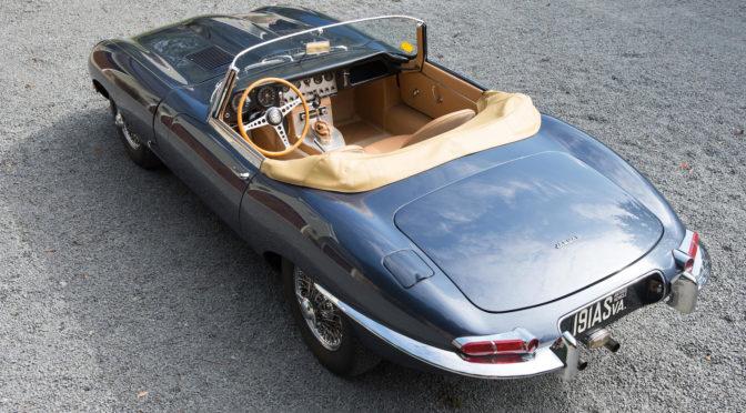 Jaguar E-Type S1 Roadster 1961 – SPRZEDANY