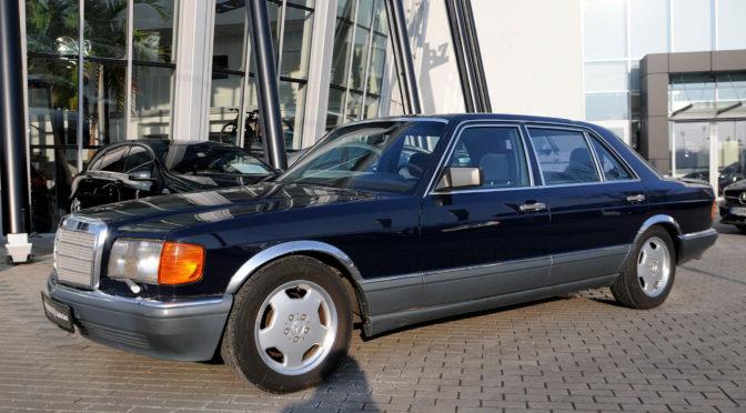 Mercedes 560 SEL W126 1987 – SPRZEDANY