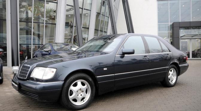 Mercedes S 500 W140 1998 – SPRZEDANY
