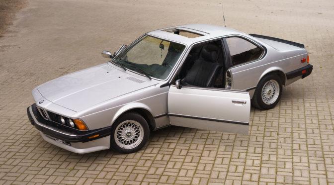BMW 635 CSi E24 1985 – SPRZEDANE