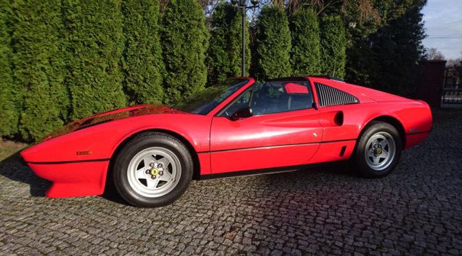 Ferrari 208 GTS Turbo 1984 – 349000PLN – Katowice