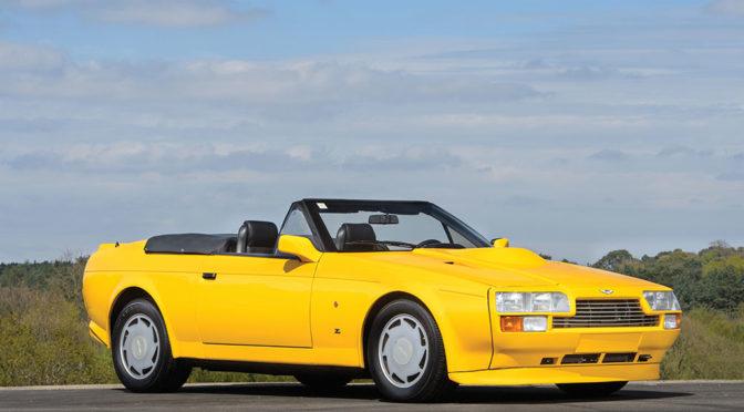Aston Martin V8 Vantage Volante 1989 – SPRZEDANY