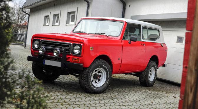 International Harvester Scout II 1979 – 98400 PLN – Aleksandrów Łódzki