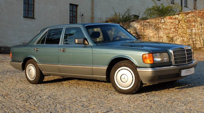 Mercedes 420 SE W126 1986 – SPRZEDANY