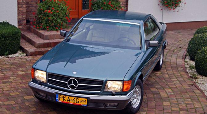 Mercedes 500 SEC C126 1983 – SPRZEDANY