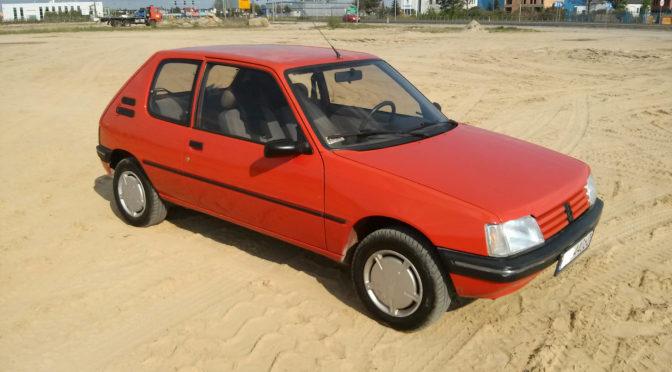 Peugeot 205 1992 – SPRZEDANY